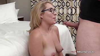 First Fuck On Camera For New MILF Abbey James As She Is Fucked And Creampied