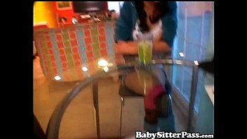Danni Cole Naughty Teen Babysitter - Creampie