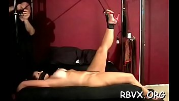 Sexy girl video move free - This slut cant move while her tormentor plays with her wet crack