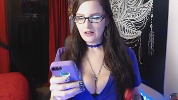 Camgirl Vlog #2 Bossy Tattooed Hot BBW with Big Boobs Eats all the Snacks Feedee & Burbing