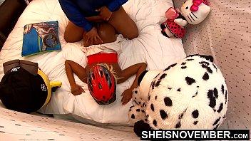 4k UHD Prone Hardcore Rough Sex Innocent Ebony Girl Fucked Hard By Big Dick Friend After Bike Riding Sheisnovember Reality Movie 13 min