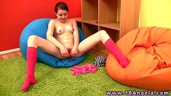 Amateur young petite masturbating 6 min