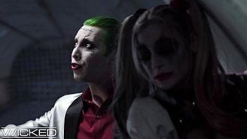 Harley Quinn Fucks Joker & Batman 11 min