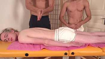 Gay bottom kyle - Raweuro blond bottom kyle matthews massaged in bare threeway