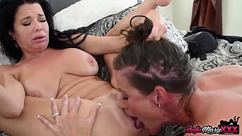 Beautiful MILF Sofie Marie Pussy Eaten By Lesbian Goddess