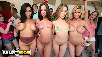 Hormone driven invasive breast cancer Bangbros - jada stevens, diamond kitty, alexis fawx and kristina rose on dorm invasion