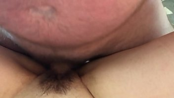 wife getting up close cock