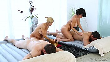 Essential oils suitable for facial massage Foursome massage - veronica avluv, alexis fawx