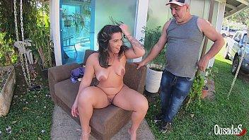 Victoria Dias chega ao local de gravação para mostrar o que ela é capaz de Tony Tigrão Big Bambu Sandro Lima Binho Ted