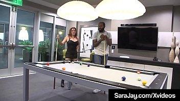 PAWG Milf Sara Jay & Curvy Nicky Ferrari Milk Big Black Cock thumbnail