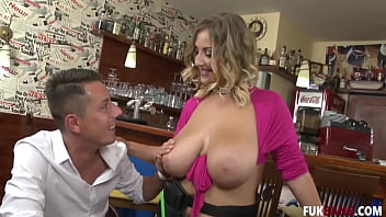 Cristal Swift Waitress Gets Attention
