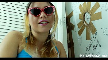 BP09-Cuckold Glory´s  Hole Handjob Slave Man - Free Video 7 min