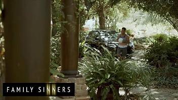 Hot Blonde Milf (Kit Mercer) Blows Fucks Her Step Son Van Wylde - Family Sinners 12 min