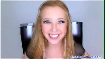 Horny Blonde Teen Loves To Swallow Cum - 69VClub.Com