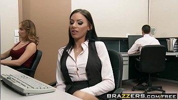 Brazzers - Big Tits At Work - (Riley Evans) (Keiran Lee) - Fuck Me Til Im Fired