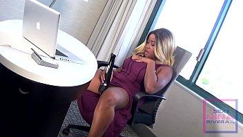 Video xxx jenny rivera Nina rivera masturbates when the boss is away