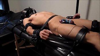 Electro bondage for boy...