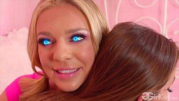 GirlGirl.com - Abigail Mac Gets Fucked By Lesbian Sexbot Tiffany Watson