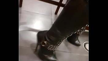 high heels boots 6 inch