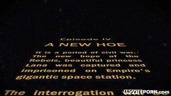 STAR WARS - Anal Princess Leia 7 min