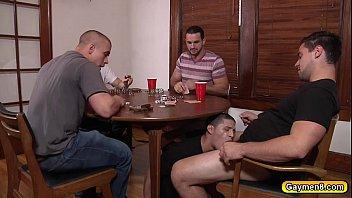 "Three gay dicks plow Tino Cortez asshole <span class=""duration"">6 min</span>"