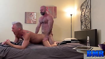 BREEDMERAW Raw Sex With Hunks Bishop Angus And Silver Steele