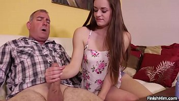 Sex With Very Chicky Grandpa Fucks Young Granddaughter