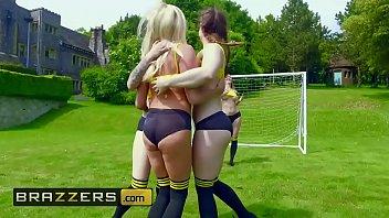 Big TITS in Sports - (Lucia Love, Michelle Thorne, Mila Milan, Tamara Grace, Danny D) - ZZ Cup Team Tits - Brazzers