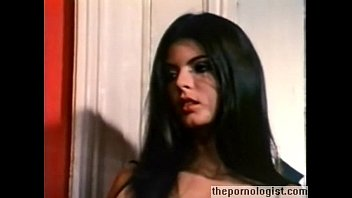 Hot Brunette With Hairy Bush Fucked In Vintage Porn Movie