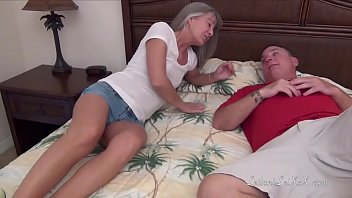 Petite Milf Cheats on Hubby with Friend
