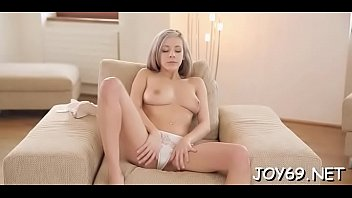 Lusty barely legal Tracy S. is fake penis her tight taco