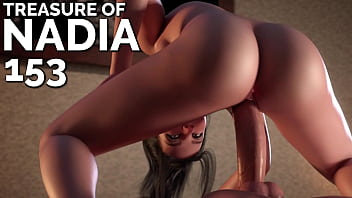TREASURE OF NADIA #153 • A petite teen riding a monster cock