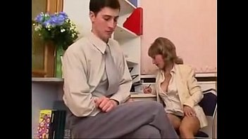 Young girll fucked in office - Office pantyhose milf teases and fucks