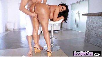 Hard Anal Bang With Big Curvy Butt Girl (kiara mia) movie-16