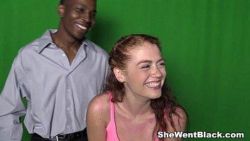 Redhead Teen Alice Green Interracial Creampie porno izle