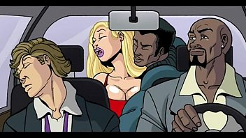 Big breasted cartoon art - Interracial cartoon video