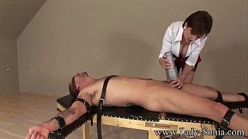 Lady Sonia Strapped Down And Fucked Hard 8 min