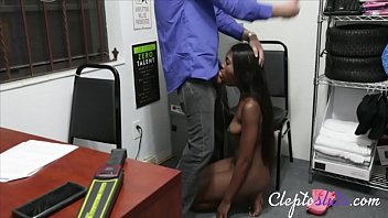 Ebony Hot Slut With Big Tits Gets Force Fucked For Stealing- Tori Montana