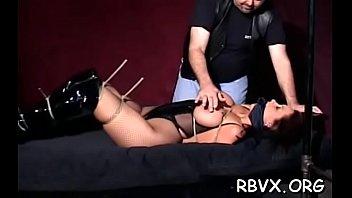 Classy hottie is wearing sexy drilling her putz