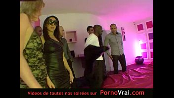 Cherry pit swinger club French hidden cam in a swinger club part 3