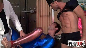 Gay superman cartoon - Superman double teamed lance hart, cameron kincade, alex adams