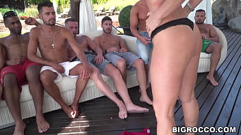Experienced MILF Blue Angy knows how to handle a handful of cocks
