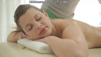Filthy chick is mad about hot ass massage scene 2