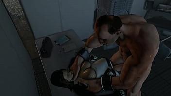 Resident evil woman human monster hardcore sex...