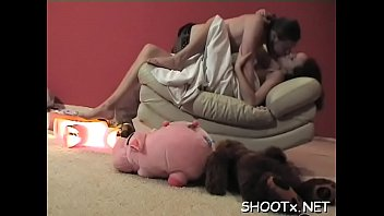 Private fuck session with slutty pair screwing like animals