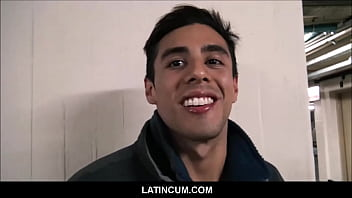 Amateur Straight Spanish Latino Jock Sex With Gay Stranger From Street Making Sex Documentary For Cash