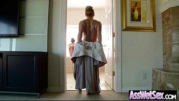 Anal Sex With Big Oiled Wet Butt Girl (aj savannah) movie-02