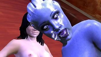 Mass Effect Threesome