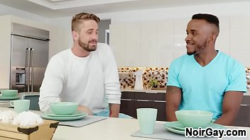 White Gay Seduces Straight Black Friend From College