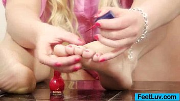 Bbw blond Jennifer gorgeous feet show